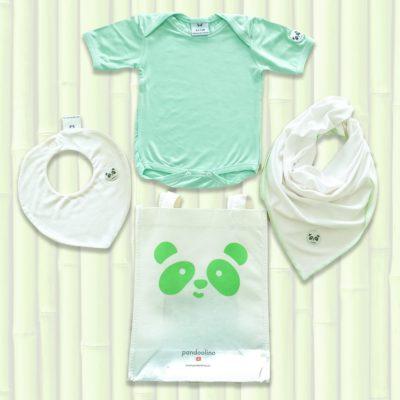 Geschenkspaket grün