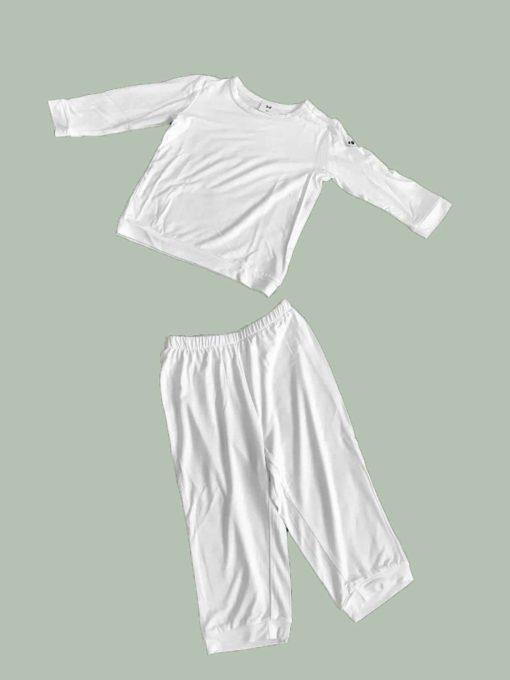 Kinderpyjama aus Bambus